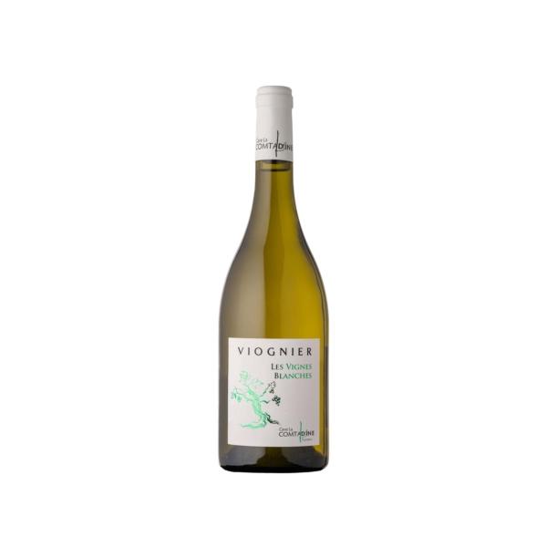 Bouteille de vin veilles vignes blanc