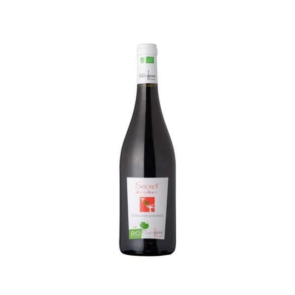 Bouteillle de vin rouge Secret de Collines