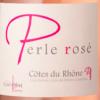 Bouteille de vin rosé Perle de rosé